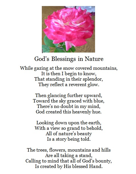 God's Blessings in Nature