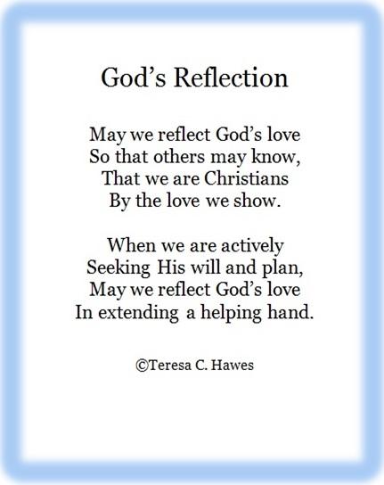 God's Reflection-1